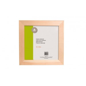 Dřevěný rámeček 30x30cm