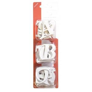 Kartonová samolepicí abeceda, velká písmena