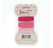 Bavlnka pro Sew Easy 9m – Pink
