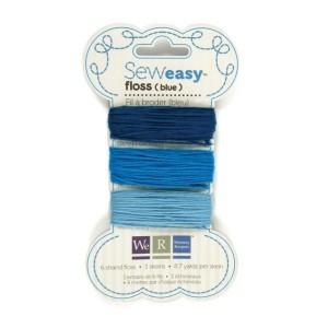 Bavlnka pro Sew Easy 9m – Blue