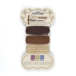 Bavlnka pro Sew Easy 9m – Brown
