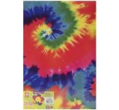 Moosgummi barevná batika