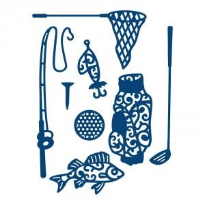Vyřezávací krajková šablona Tattered Lace - Sportovní doplňky