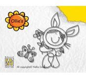 Gelové razítko – Bunny girl