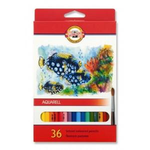 Akvarelové pastelky 36ks