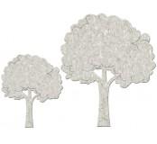 Papírová dekorace strom