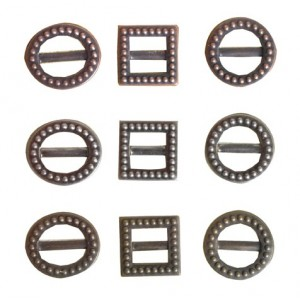 Kovové štítky 9 ks