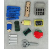 Dekorační knoflíčky Pencil box