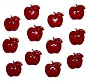 Dekorační knoflíčky Sew Thru Apples
