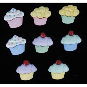 Dekorační knoflíčky Mini sweet treats