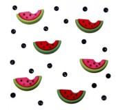 Dekorační knoflíčky Watermelons