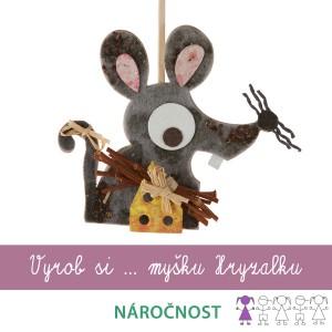 Vyrob si myšku Hryzalku