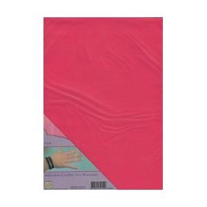 Imitace kůže - A4 růžová