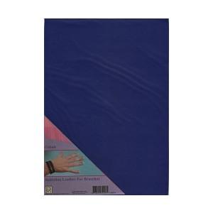 Imitace kůže - A4 modrá