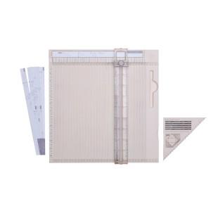 Podložka pro ohýbání papíru s pravítkem