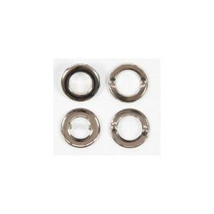 Kovový kroužek pro vytvoření otvoru v látce- 2,8cm