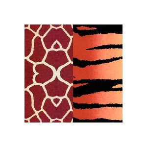 Folie na porcelán Color Dekor, tygr/žirafa