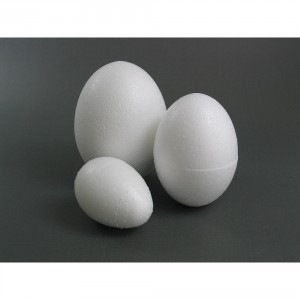 Polystyrenové vajíčko 6 cm