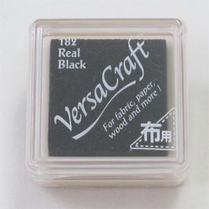 Razítkovací mini polštářek Versa Craft-černý