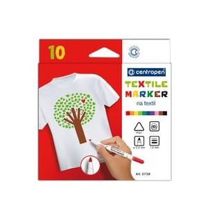 Značkovač na textil sada 10 ks