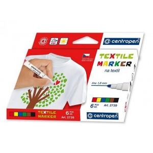 Značkovač na textil sada 6 ks
