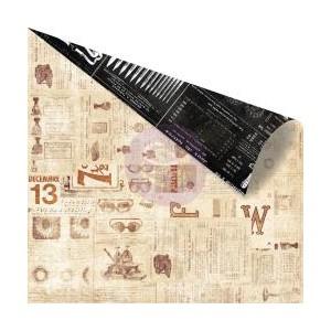 Scrapbookový papír motiv F&W - korálky a dekorace