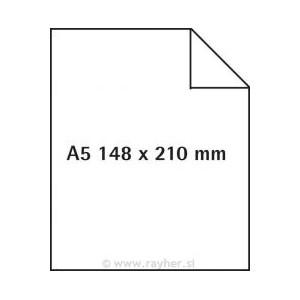 Pergamenový papír A5, 8 archů