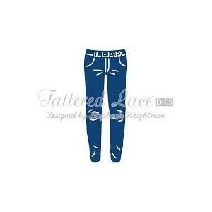 Vyřezávací krajková šablona – George´s Jeans