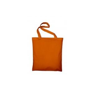 Bavlněná taška 38 x 42 cm, oranžová