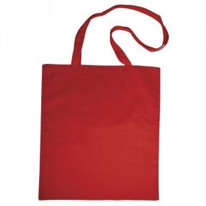 Bavlněná taška 38 x 42 cm, červená