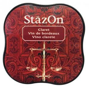 Inkoustový polštářek StazOn - Claret