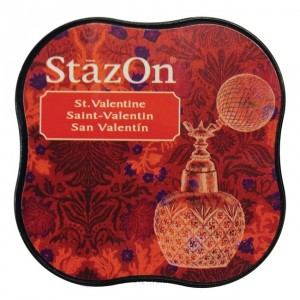 Inkoustový polštářek StazOn - St.Valentine