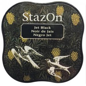 Inkoustový polštářek StazOn - Jet Black