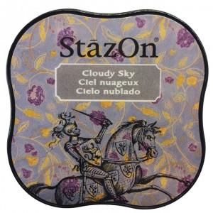Inkoustový polštářek StazOn - Cloudy Sky