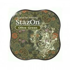 Inkoustový polštářek StazOn - Olive Green