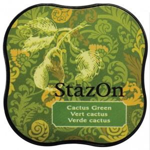 Inkoustový polštářek StazOn - Cactus Green