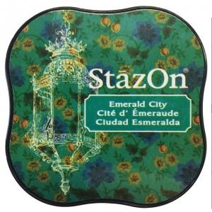 Inkoustový polštářek StazOn - Esmerald City