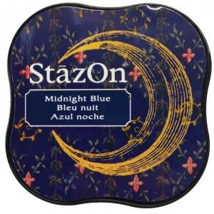Inkoustový polštářek StazOn - Midnight Blue