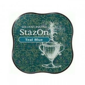 Inkoustový polštářek StazOn - Teal Blue