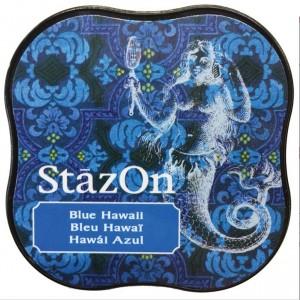 Inkoustový polštářek StazOn - Blue Hawaii