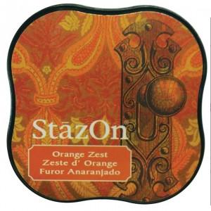 Inkoustový polštářek StazOn - Orange Zest