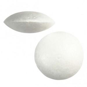Polystyrenová čočka 7,5 cm.