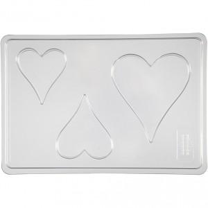 Forma na mýdlo ve tvaru srdce