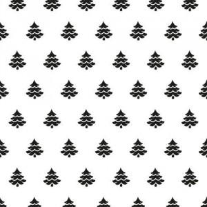 Embosovací šablona 15 x 15 cm - stromky