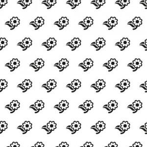 Embosovací šablona 15 x 15 cm - kytičky
