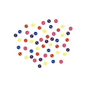Dekorační knoflíčky Micro mini Round