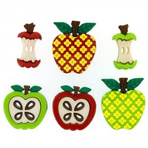 Dekorační knoflíčky Apple appeal