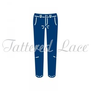 Vyřezávací krajková šablona –  George´s Trousers