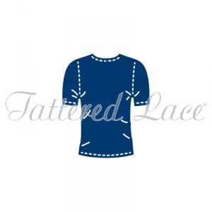 Vyřezávací krajková šablona –  George´s T-Shirt