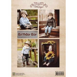 Dekorační papír Birthday Boy